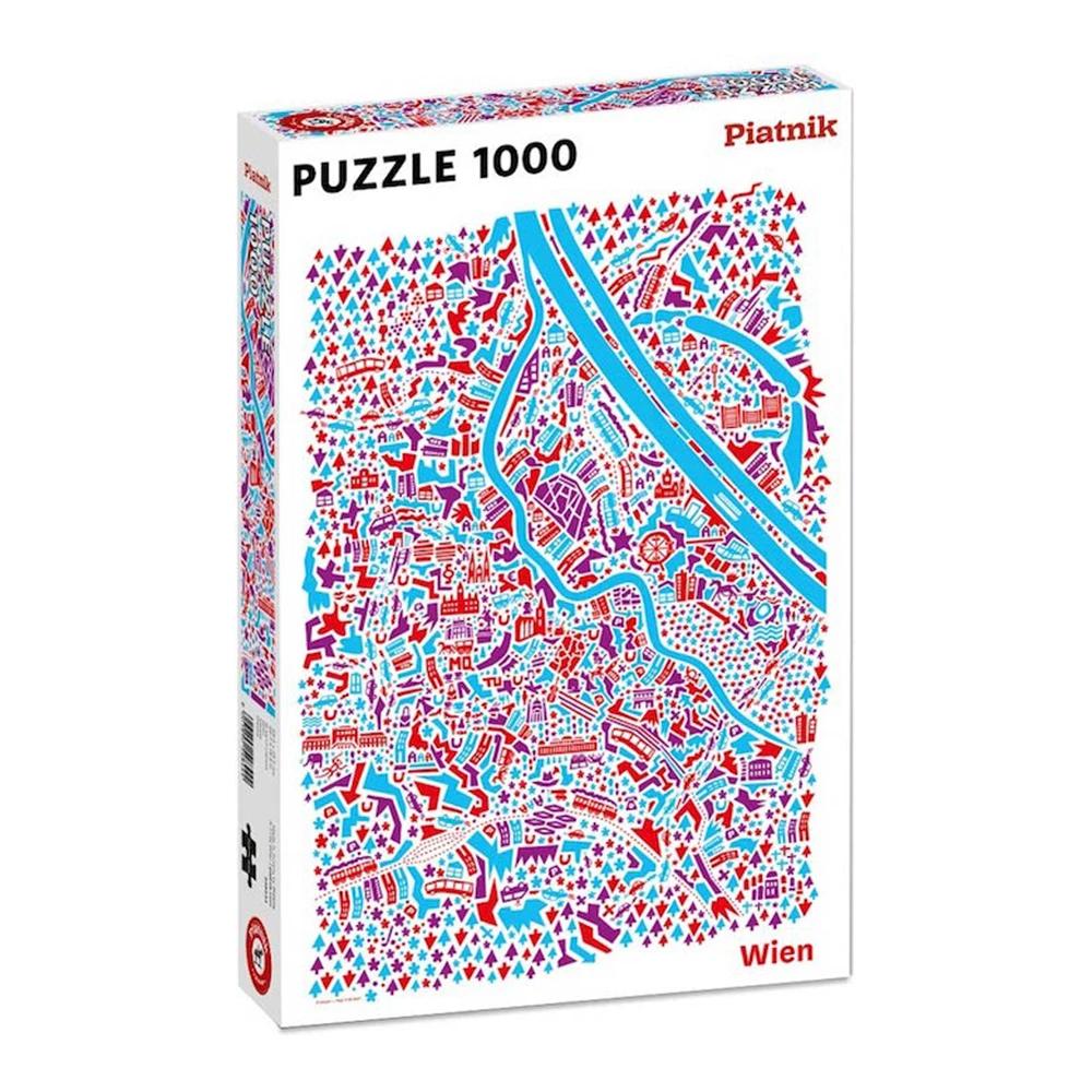 Cuy Games - 1000 PIEZAS - A VIANINA VIENA MAP -