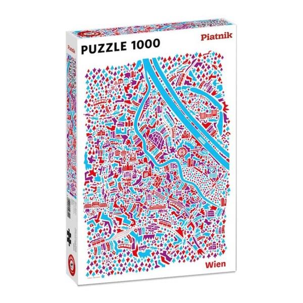 1000 PIEZAS – A VIANINA VIENA MAP