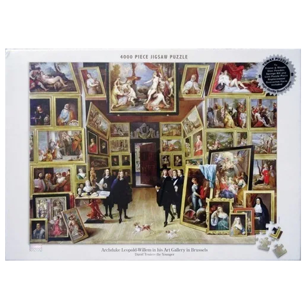 Cuy Games - 4000 PIEZAS - ARCHDUKE LEOPOLD WILLEM IN HIS ART GALLERY IN BRUSSELS -