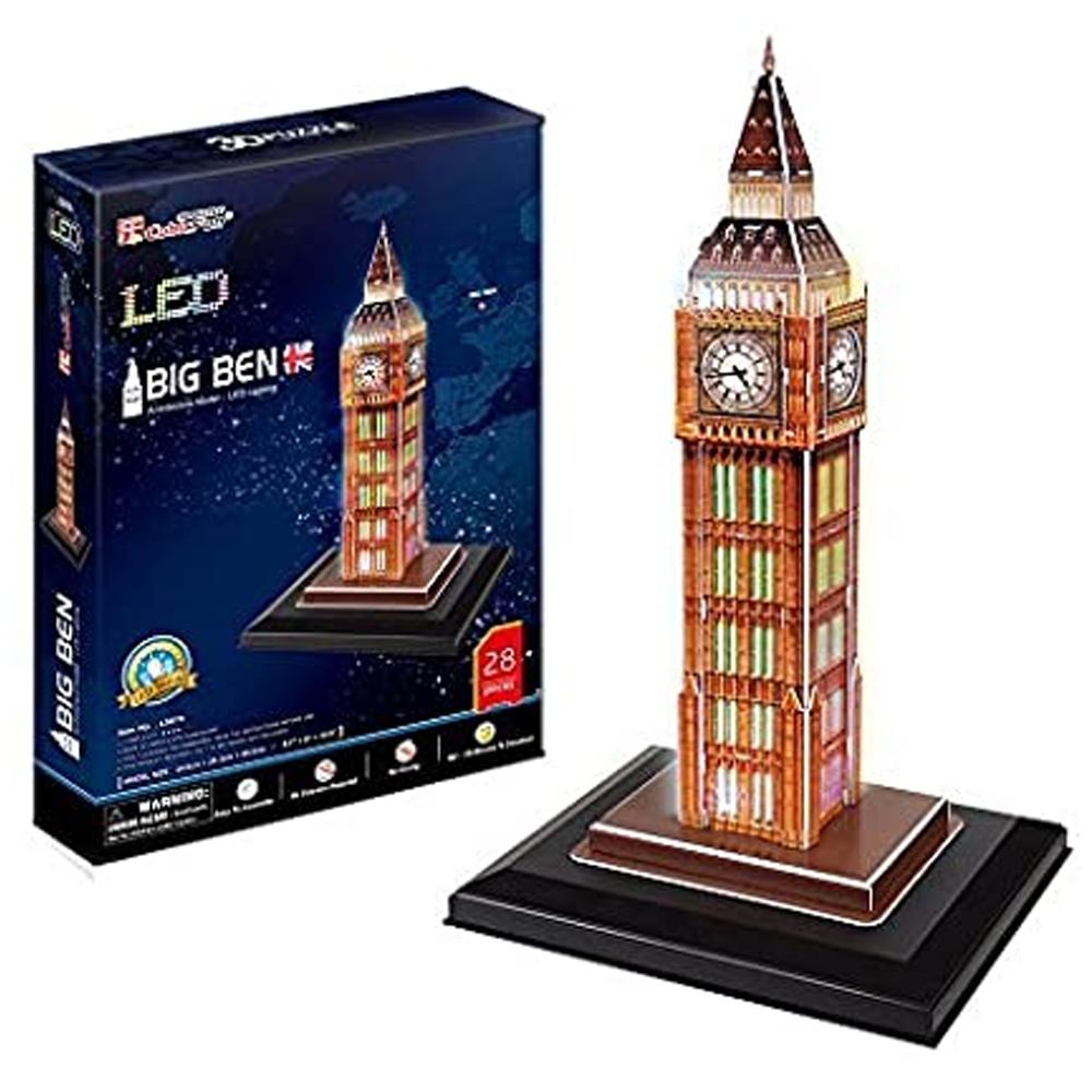 Cuy Games - 28 PIEZAS - BIG BEN LED -