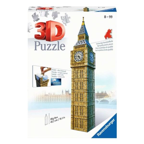 Cuy Games - 224 PIEZAS - BIG BEN 3D -