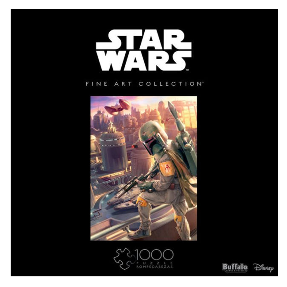 Cuy Games - 1000 PIEZAS - STAR WARS - BOBA FETT -