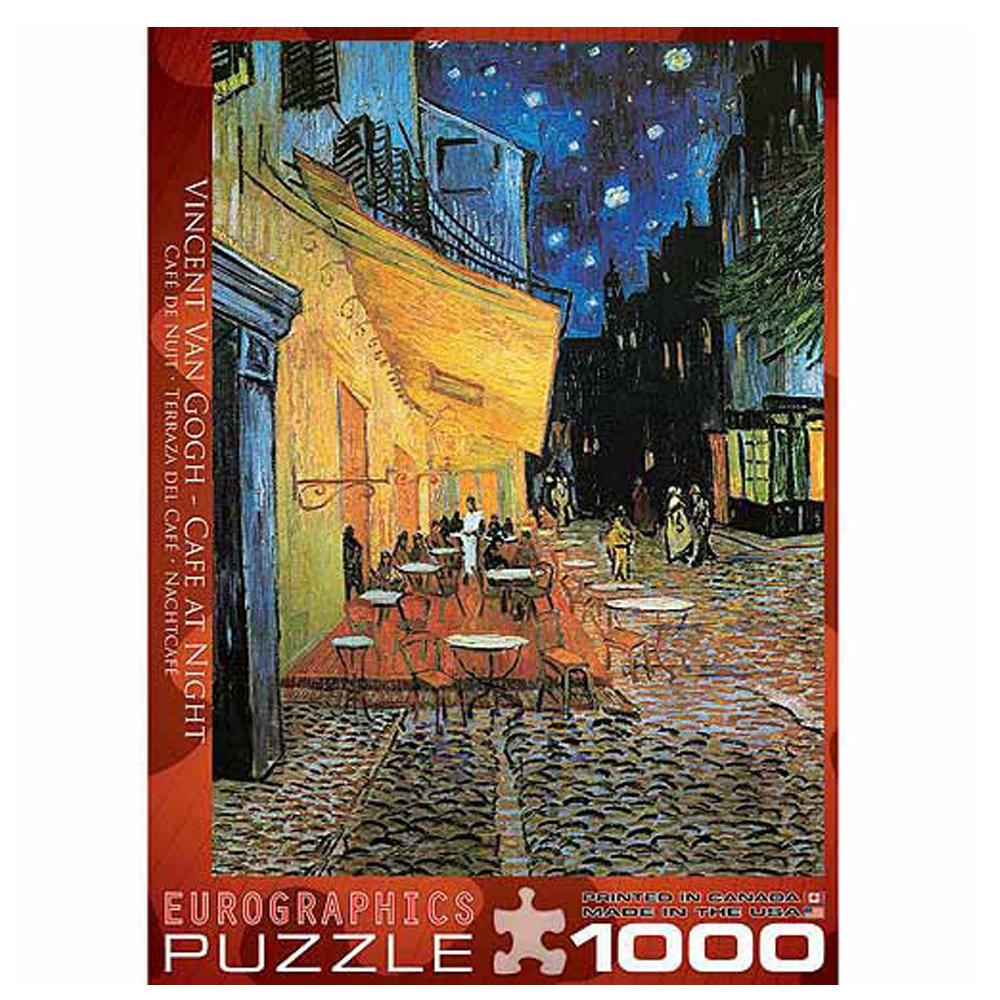 Cuy Games - 1000 PIEZAS - Van Gogh-Caf? at Night -