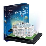 Cuy Games - 56 PIEZAS - THE WHITE HOUSE LED 3D -
