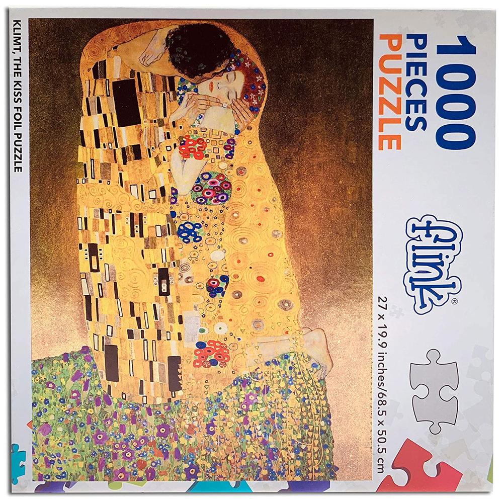Cuy Games - 1000 PIEZAS - METALLIC - EL BESO, KLIMT -
