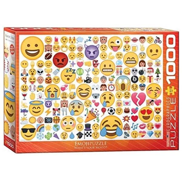 1000 PIEZAS – Emotipuzzle – What's  your mood