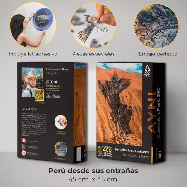 400 PIEZAS – PERU DESDE SUS ENTRAÑAS