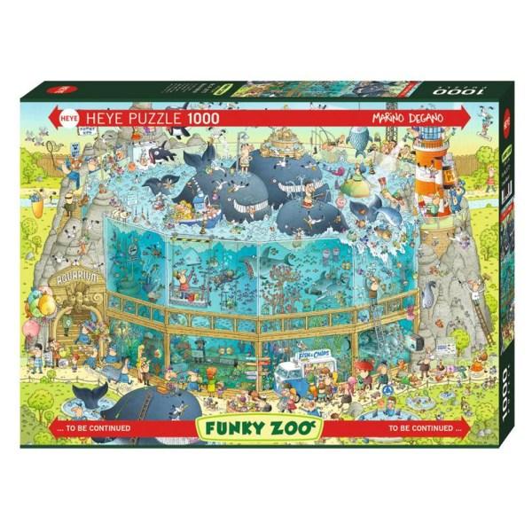 Cuy Games - 1000 PIEZAS - Ocean Habitat -
