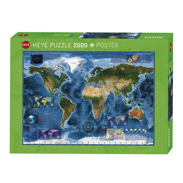 2000 PIEZAS –  Satellite Map