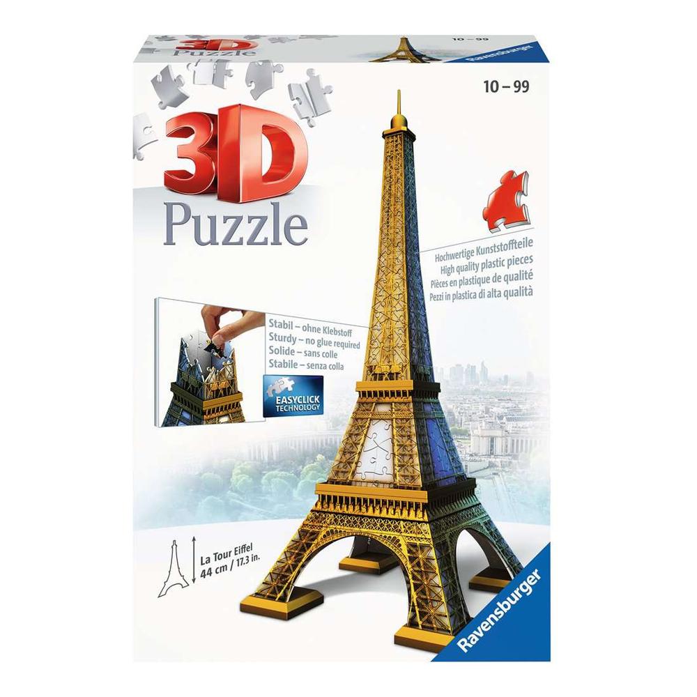 Cuy Games - 224 PIEZAS - TORRE EIFFEL 3D -
