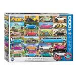 Cuy Games - 1000 PIEZAS - VW Beetle - Gone Places -