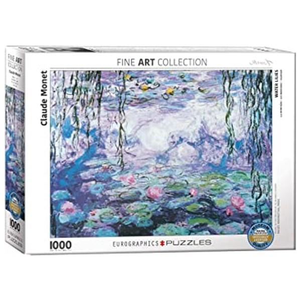 Cuy Games - 1000 PIEZAS - Monet - Waterlilies -