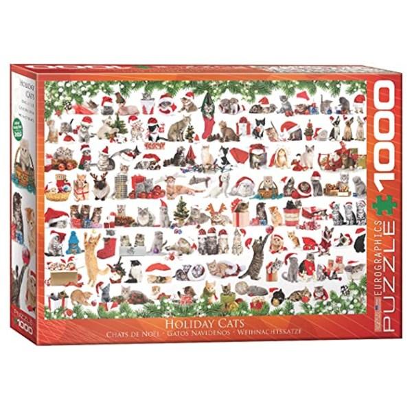 Cuy Games - 1000 PIEZAS - Christmas Kittens -
