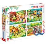 Cuy Games - INFANTIL - 4 IN 1 - THE FARM -