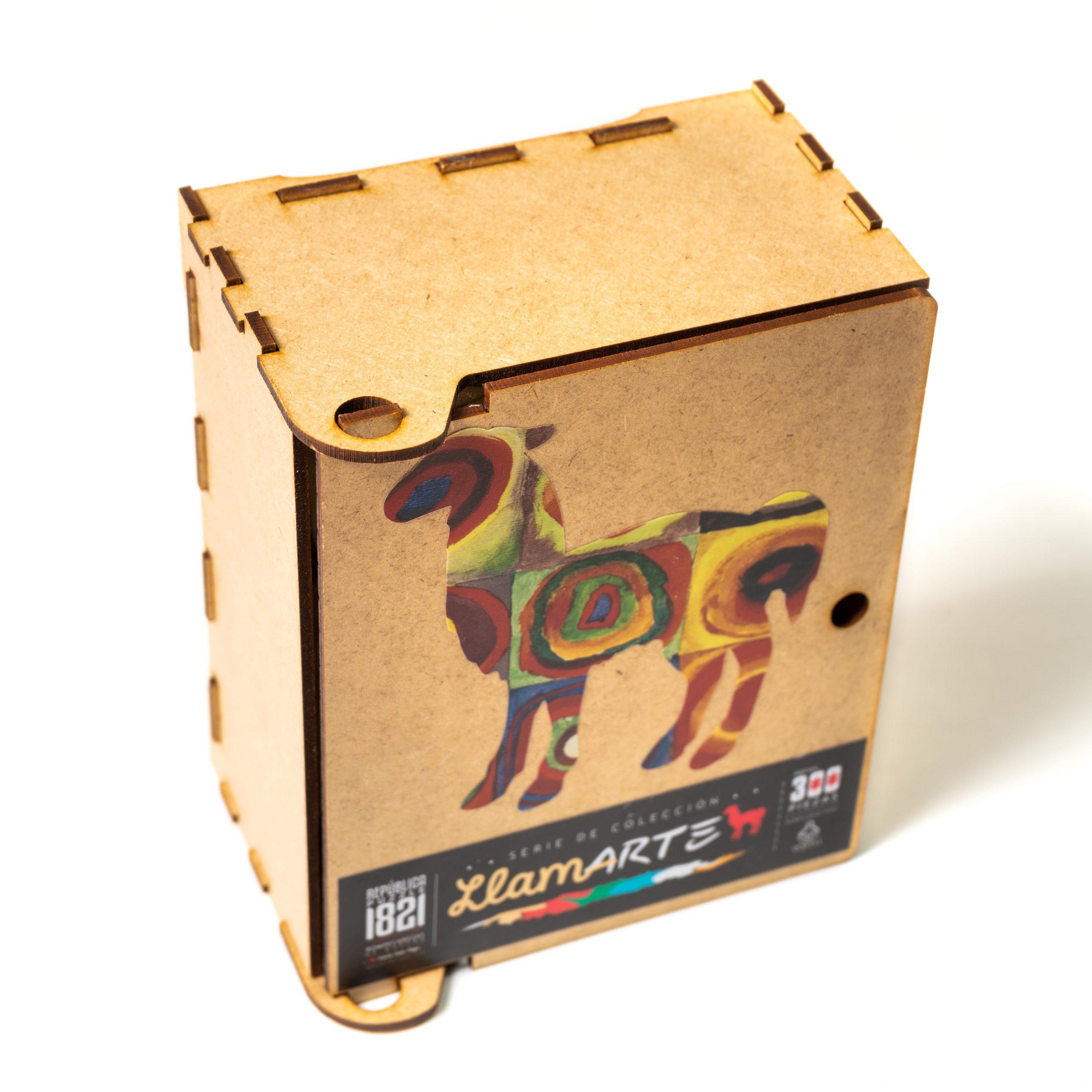 Cuy Games - 300 PIEZAS - LLAMA DE COLORES DE KANDINSKY -