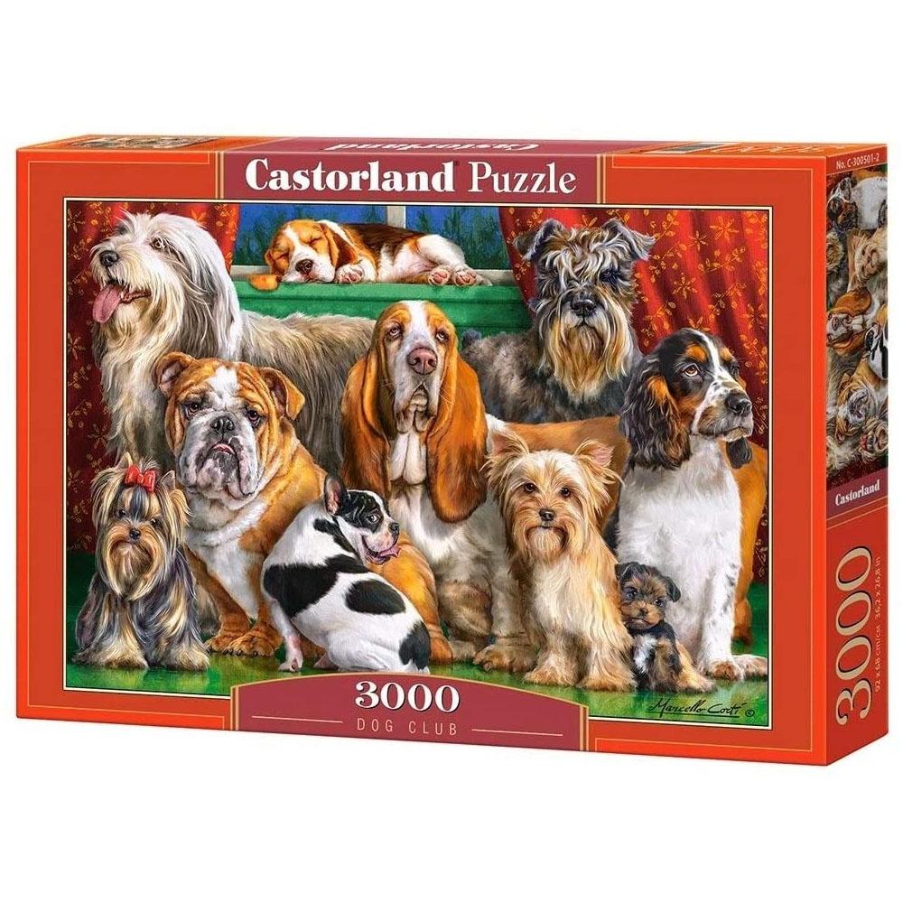 Cuy Games - 3000 PIEZAS - DOG CLUB -