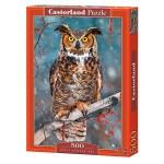 Cuy Games - 500 PIEZAS - GREAT HORNED OWL -