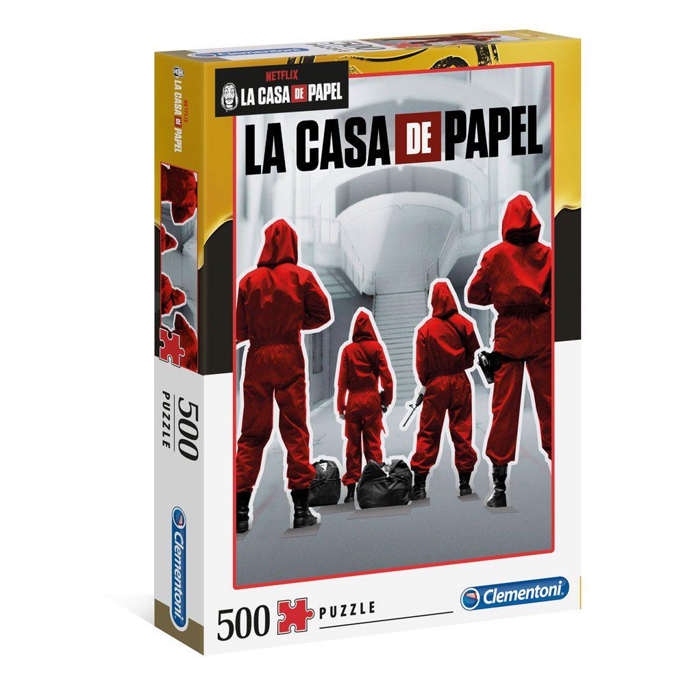 Cuy Games - 500 PIEZAS - LA CASA DE PAPEL MONEY -