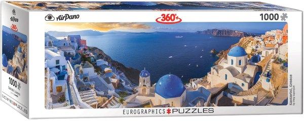 Cuy Games - 1000 PIEZAS - SANTORINI, GREECE PANORAMA -