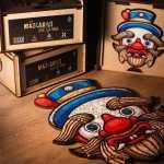 Cuy Games - 150 PIEZAS - NEGRITO DE HUANUCO - MASCARAS DEL PERU -