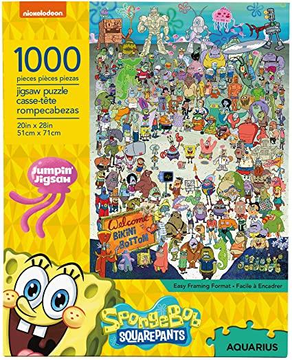Cuy Games - 1000 PIEZAS - BOB ESPONJA -