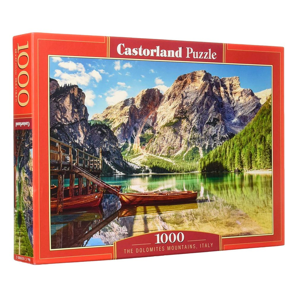 Cuy Games - 1000 PIEZAS - THE DOLOMITES MOUNTAINS, ITALY -