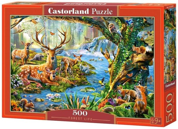 Cuy Games - 500 PIEZAS - FOREST LIFE -