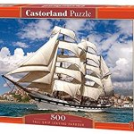 Cuy Games - 500 PIEZAS - TALL SHIP LEAVING HARBOUR -