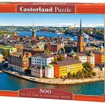 Cuy Games - 500 PIEZAS - THE OLD TOWN OF STOCKHOLM, SWEEDEN -