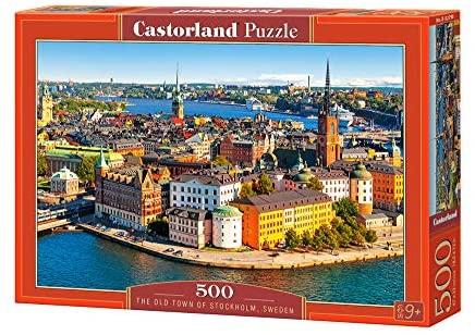 500 PIEZAS – THE OLD TOWN OF STOCKHOLM, SWEEDEN