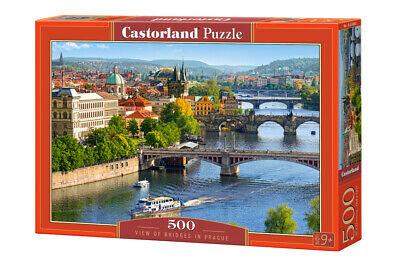 500 PIEZAS – VIEW OF BRIDGES IN PRAGUE
