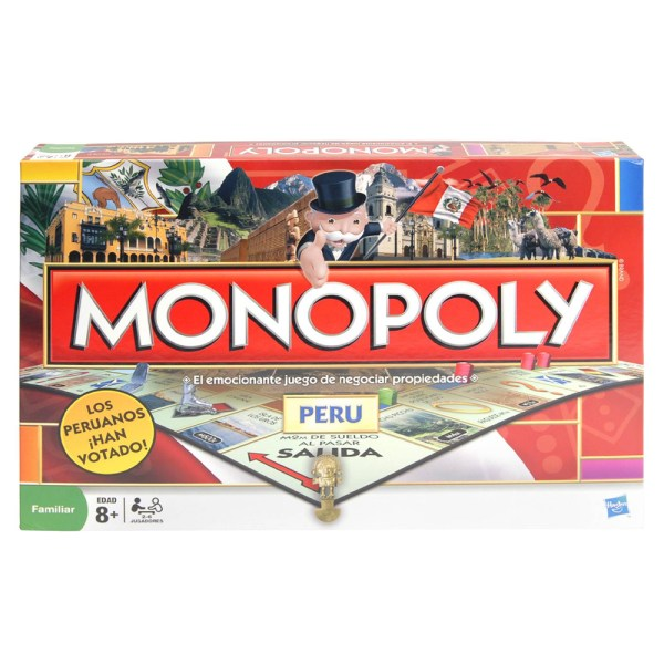Cuy Games - MONOPOLY NACIONAL PERU -