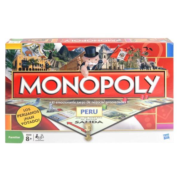 MONOPOLY NACIONAL PERU