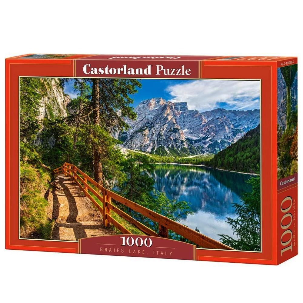 Cuy Games - 1000 PIEZAS - BRAIES LAKE, ITALY -