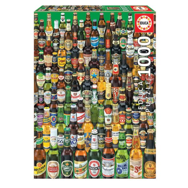 1000 PIEZAS – CERVEZAS