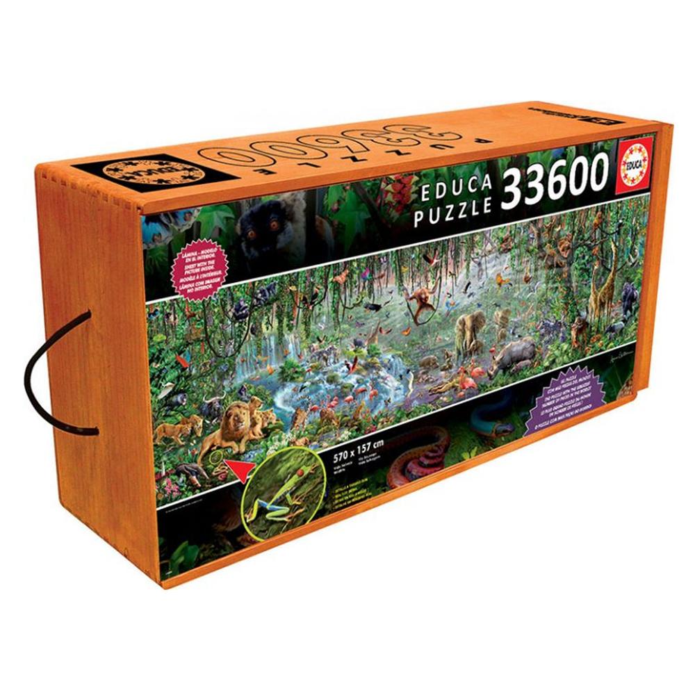 Cuy Games - 33600 PIEZAS - VIDA SALVAJE -