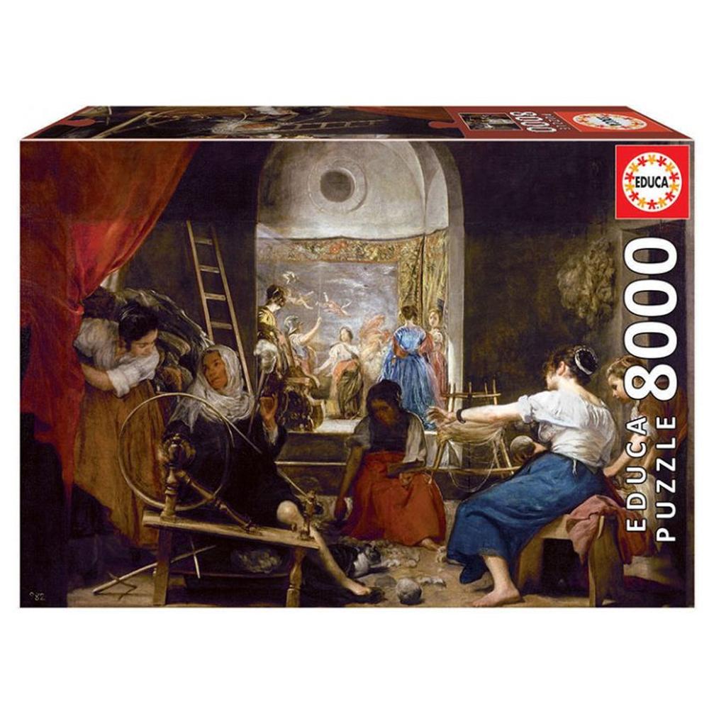 Cuy Games - 8000 PIEZAS - LAS HILANDERAS -