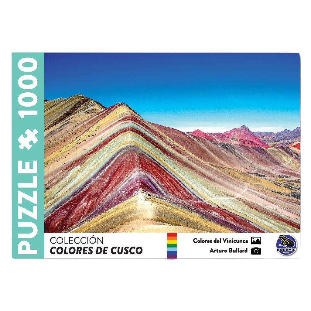 Cuy Games - 1000 PIEZAS - COLORES DEL VINICUNCA -