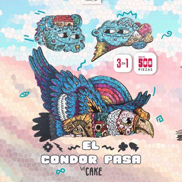 500 PIEZAS – EL CONDOR PASA BY CAKE