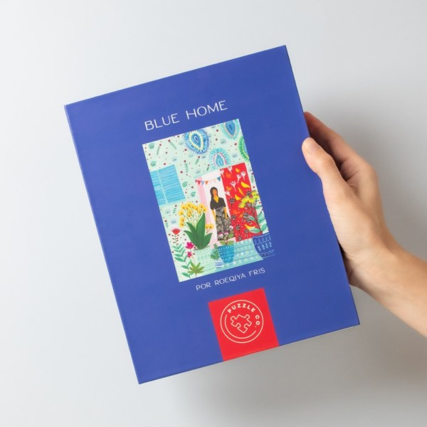 1000 PIEZAS – BLUE HOME