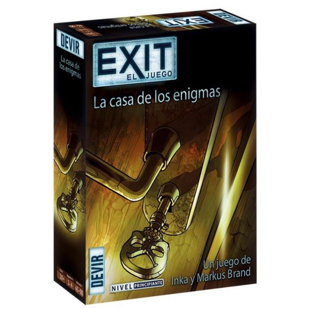 Cuy Games - EXIT: LA CASA DE LOS ENIGMAS -