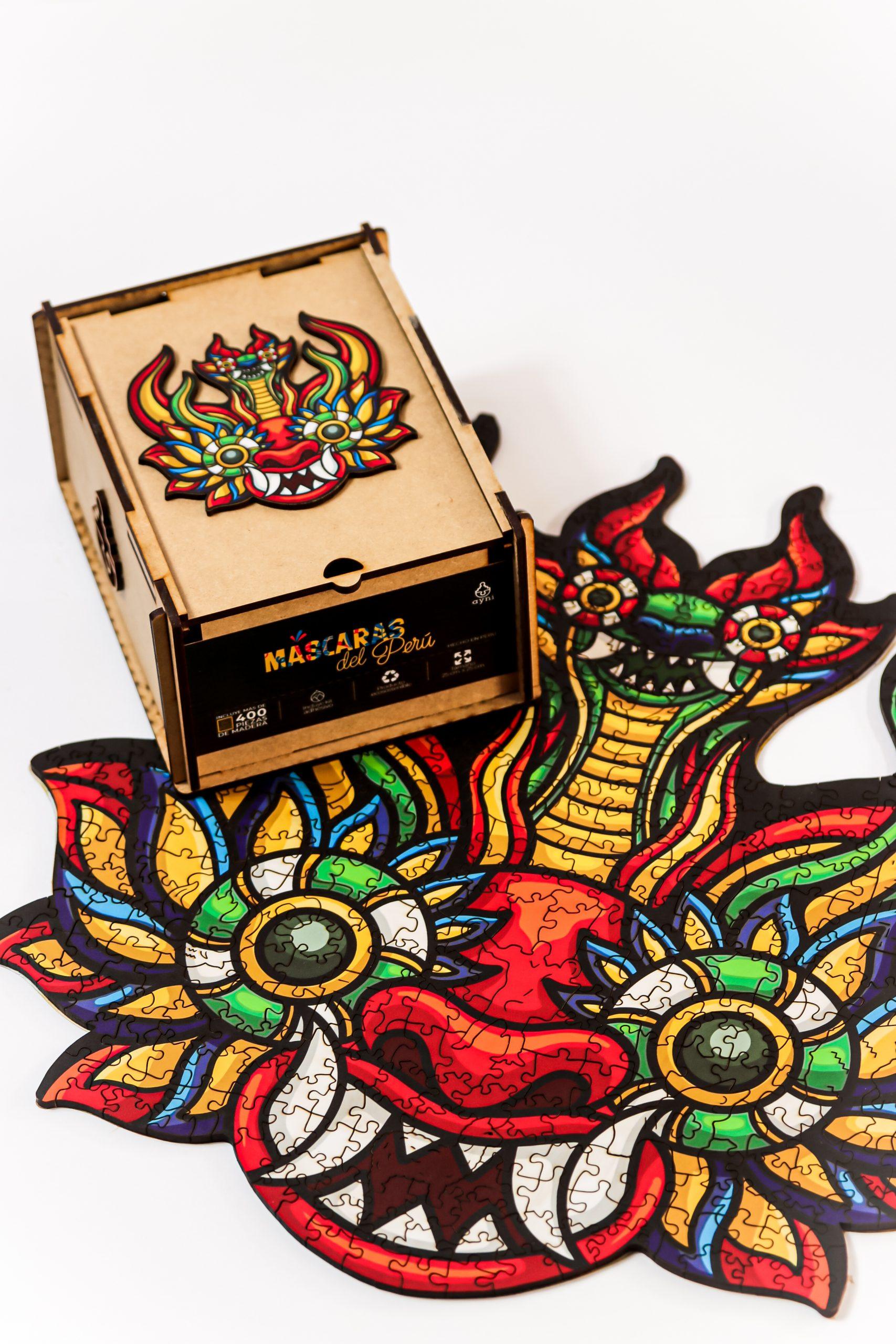 Cuy Games - 400 PIEZAS - DIABLADA - MASCARAS DEL PERU -