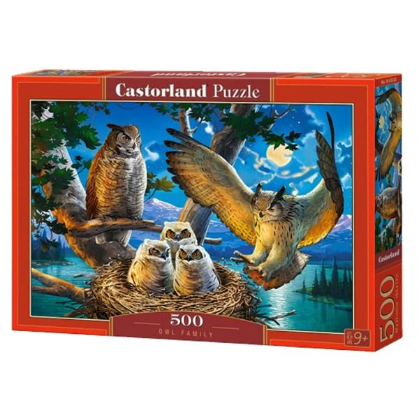 500 PIEZAS – OWL FAMILY