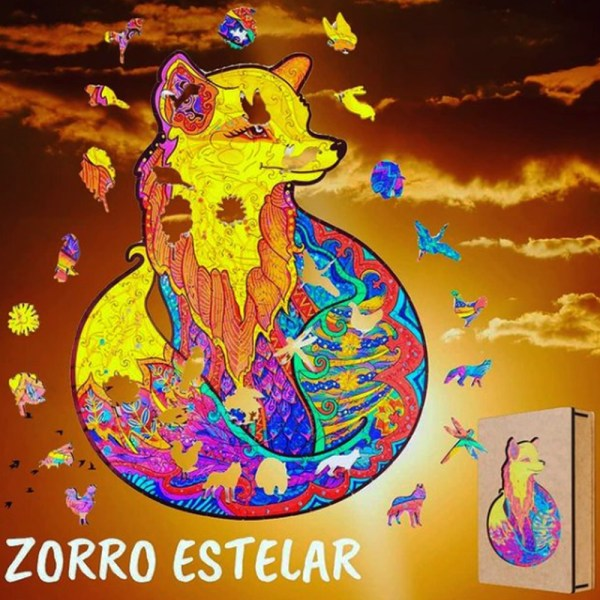 ZORRO ESTELAR – MADERA