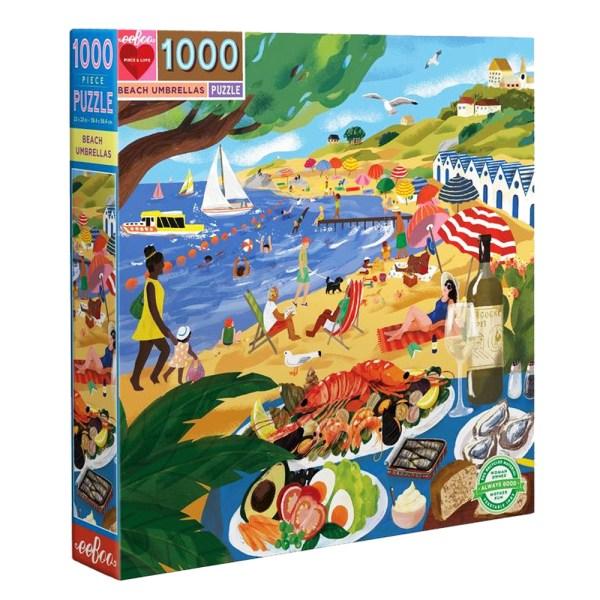 Cuy Games - 1000 PIEZAS - BEACH UMBRELLAS -