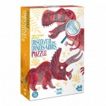Cuy Games - 200 PIEZAS - DISCOVER THE DINOSAURS -