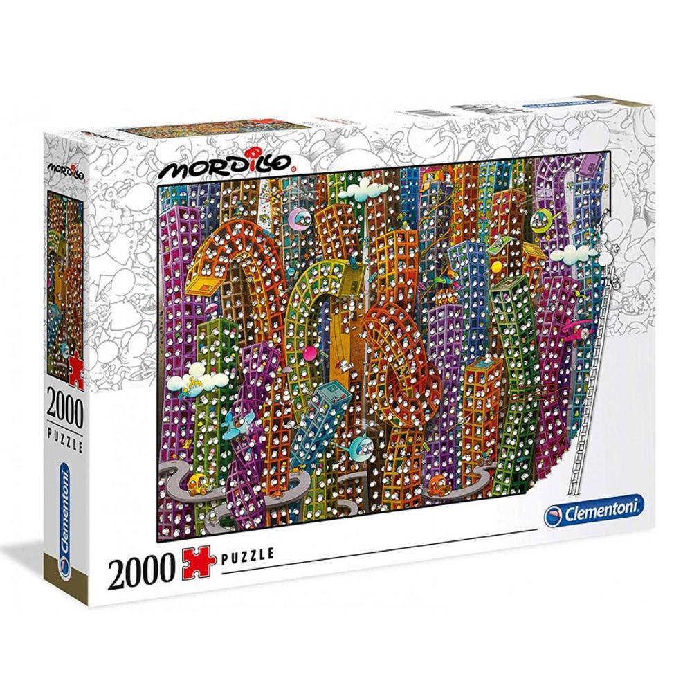 Cuy Games - 2000 PIEZAS - LA JUNGLA, MORDILLO -