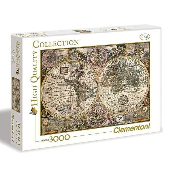 Cuy Games - 3000 PIEZAS - OLD MAP -