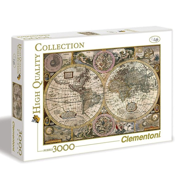 3000 PIEZAS – OLD MAP