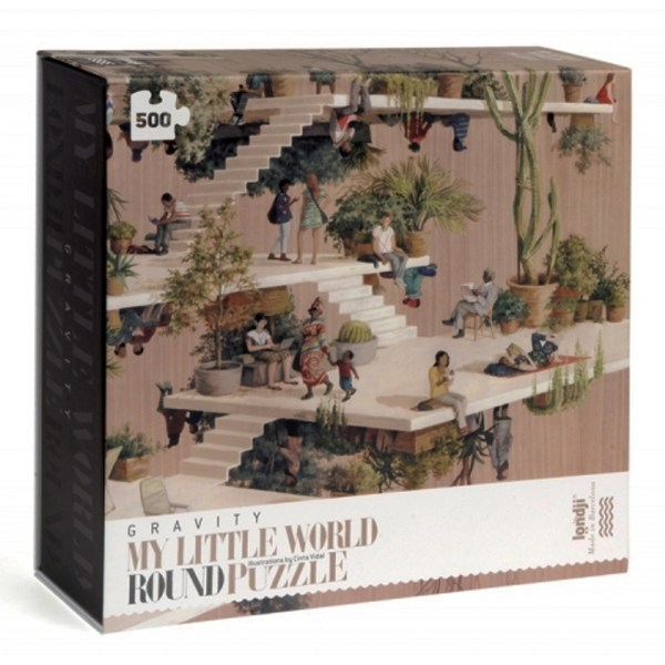 500 PIEZAS – MY LITTLE WORLD